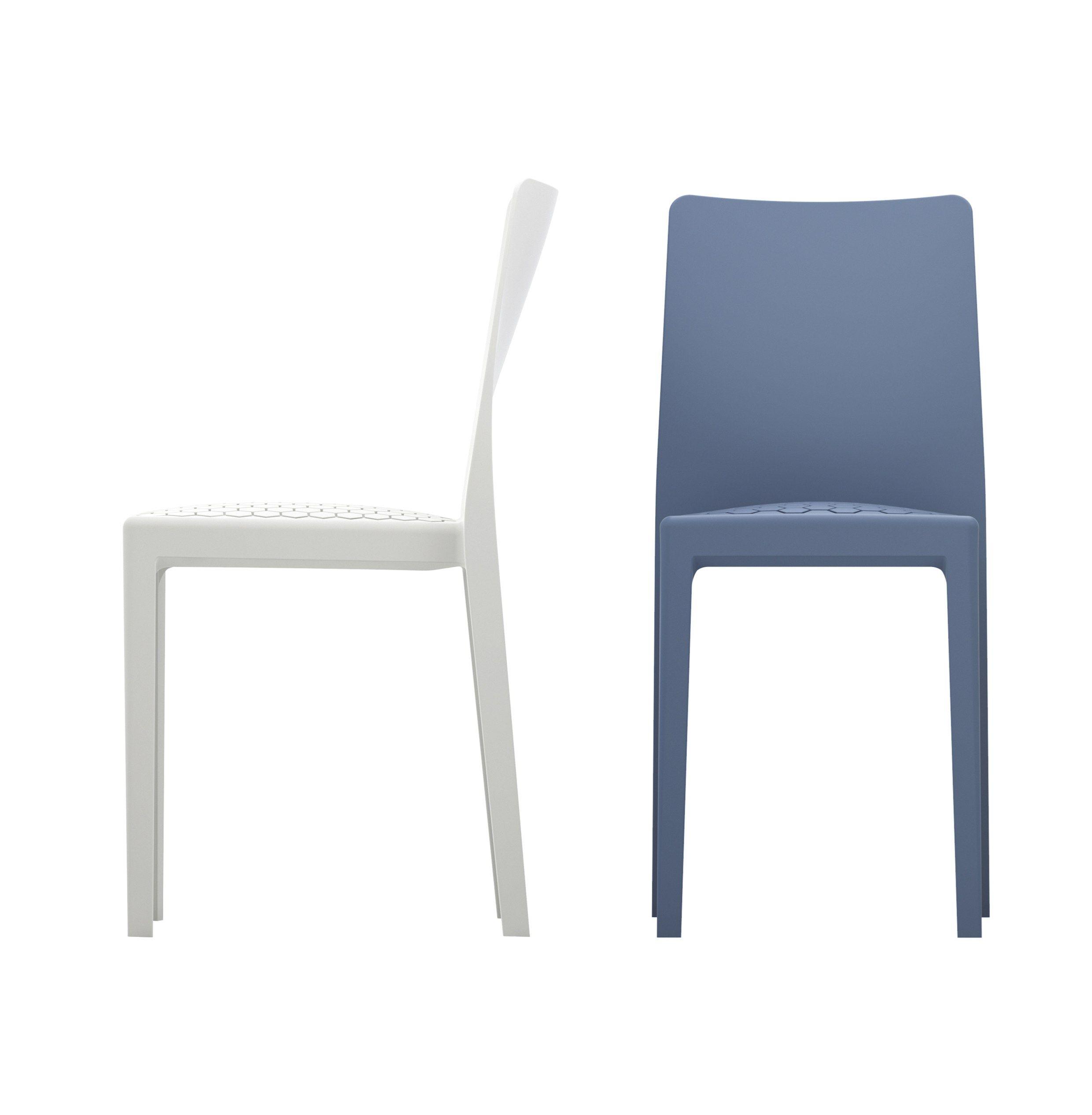 stackable polypropylene chair ms4 by calligaris design marc sadler. Black Bedroom Furniture Sets. Home Design Ideas