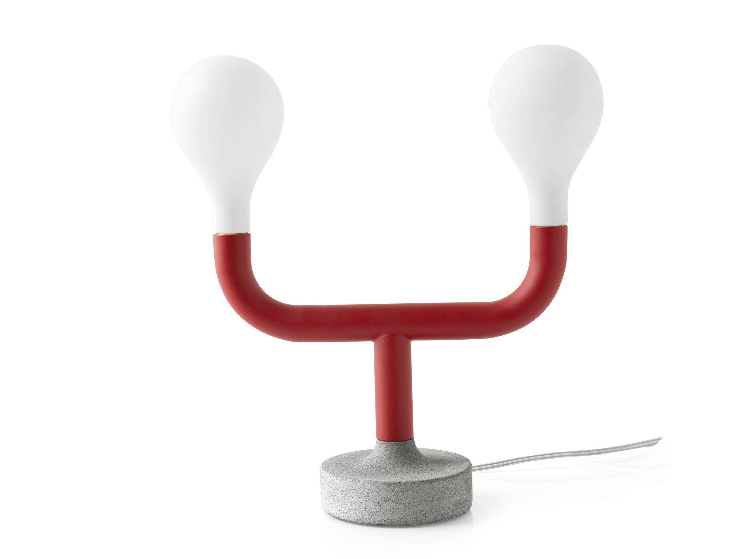 LED METAL TABLE LAMP POM POM BY CALLIGARIS DESIGN MATTEO CIBIC