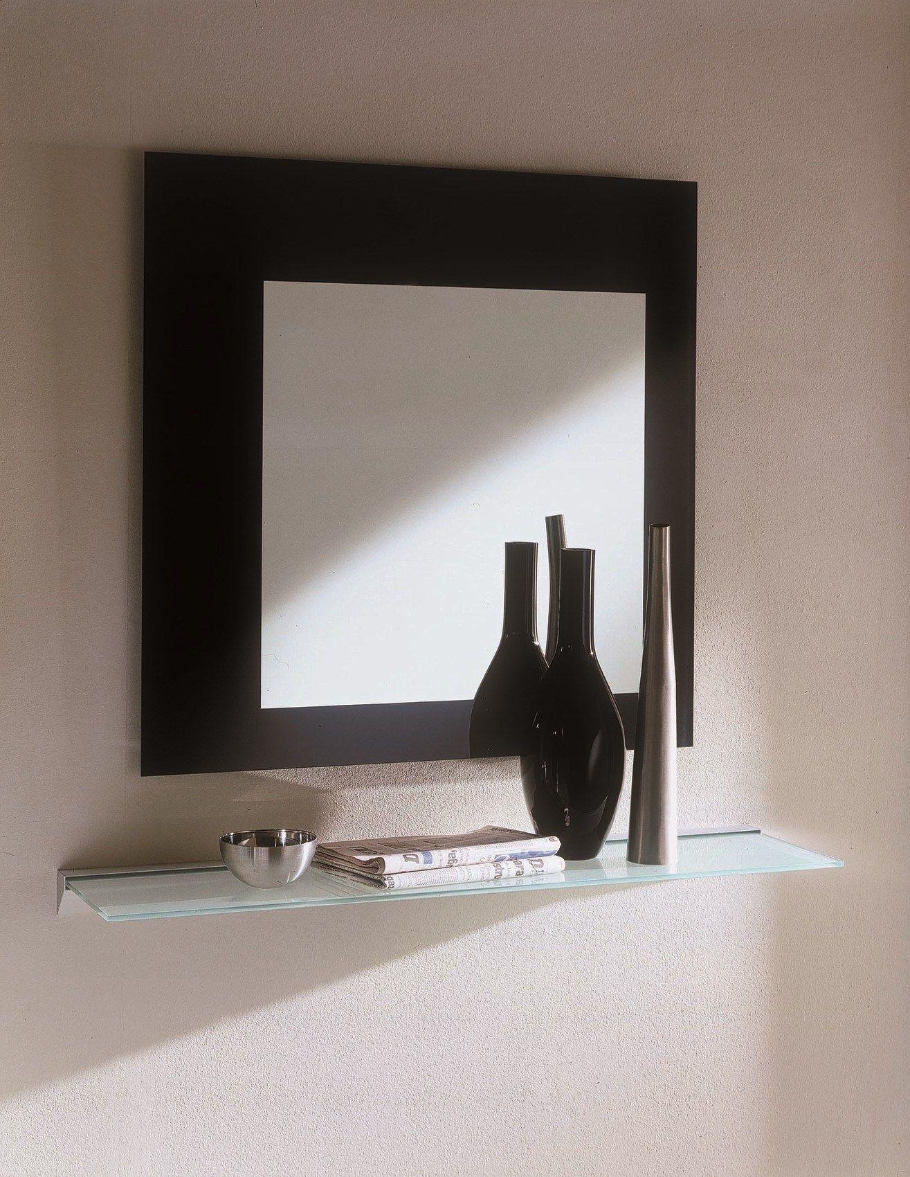 Specchio Quadrato A Parete Square Collezione Specchi By