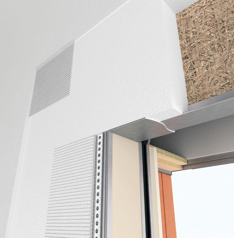 Controtelaio per finestra in finito by de faveri - Aeratore termico per finestra ...