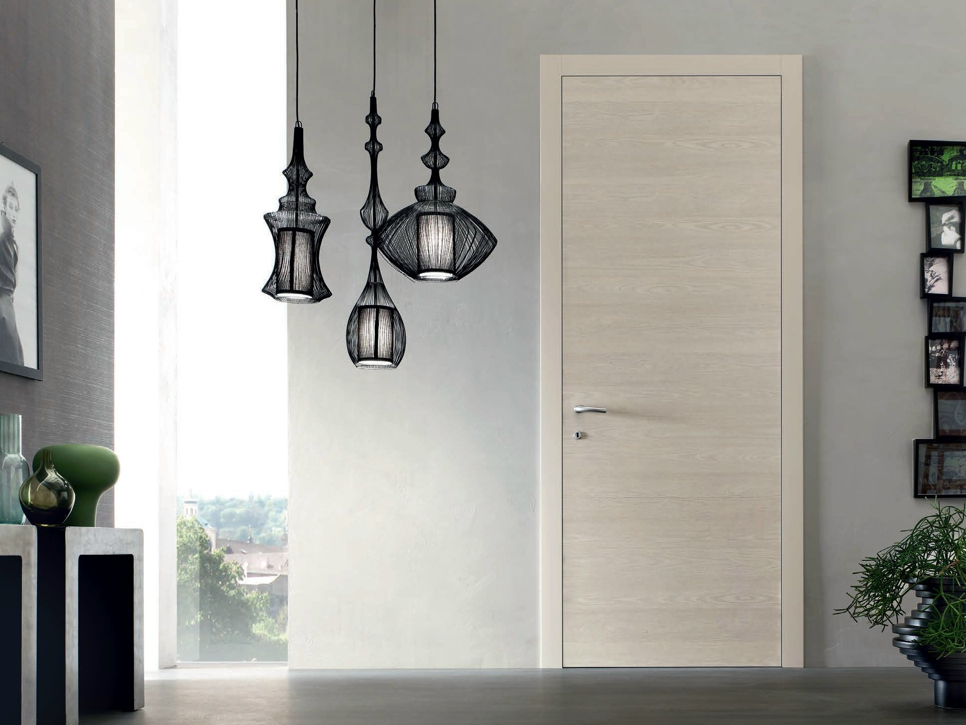 Hinged elm door randa vela collection by door 2000 by for Gruppo door 2000 spa