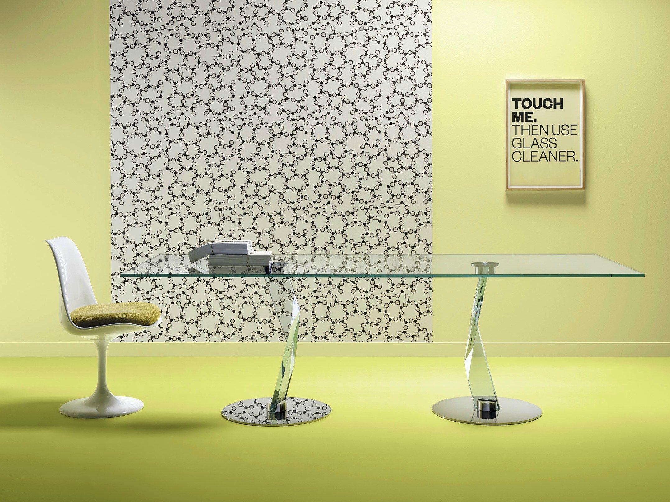 Bakkarat tavolo rettangolare by t d tonelli design design for Tavolo rettangolare