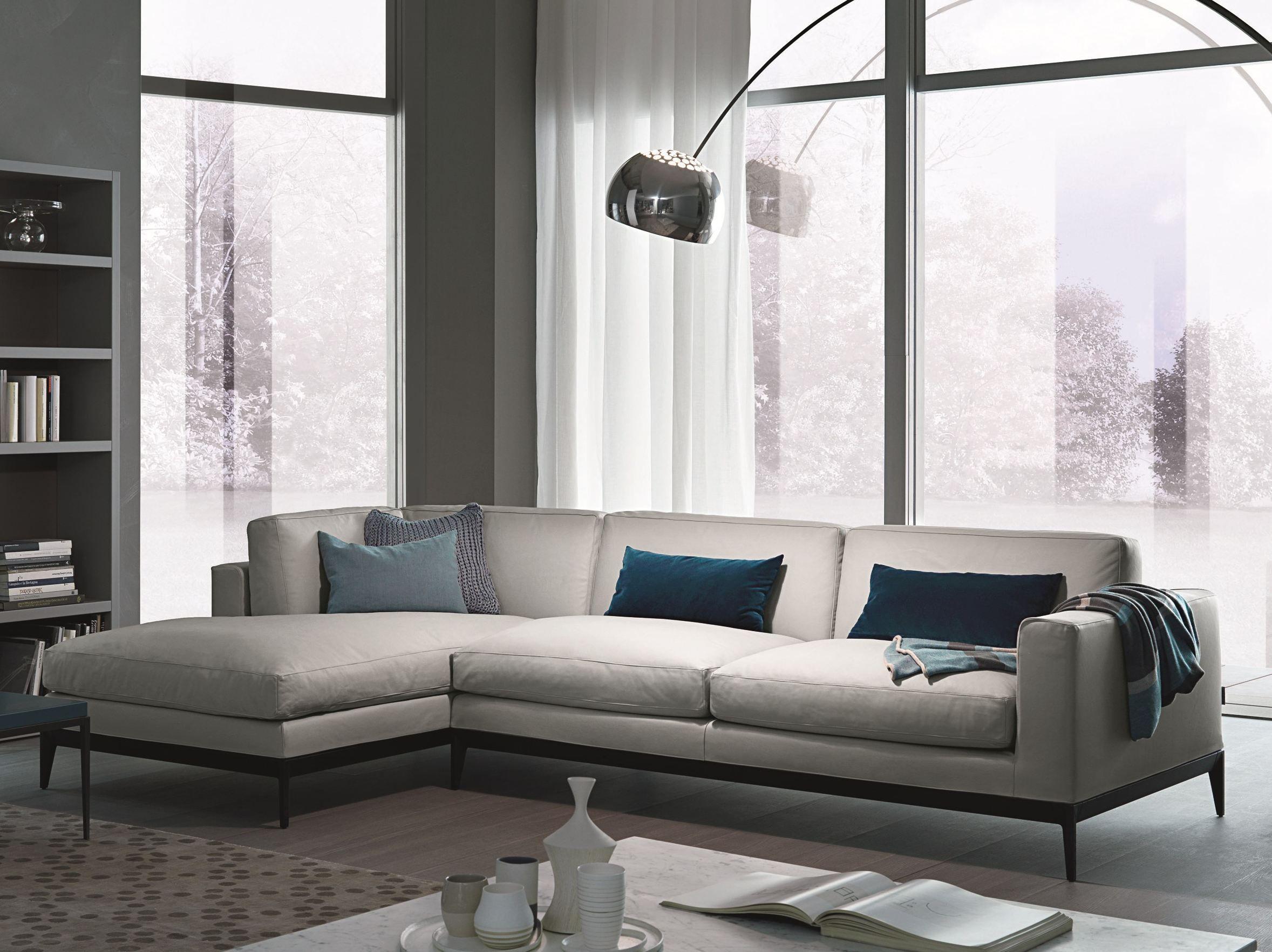 divano angolare componibile modulare in pelle antibes. Black Bedroom Furniture Sets. Home Design Ideas