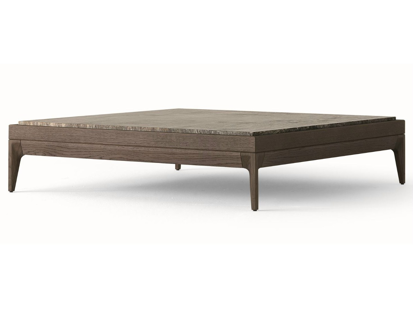 Antibes table basse by misuraemme design ferruccio laviani for Table basse carree bois massif