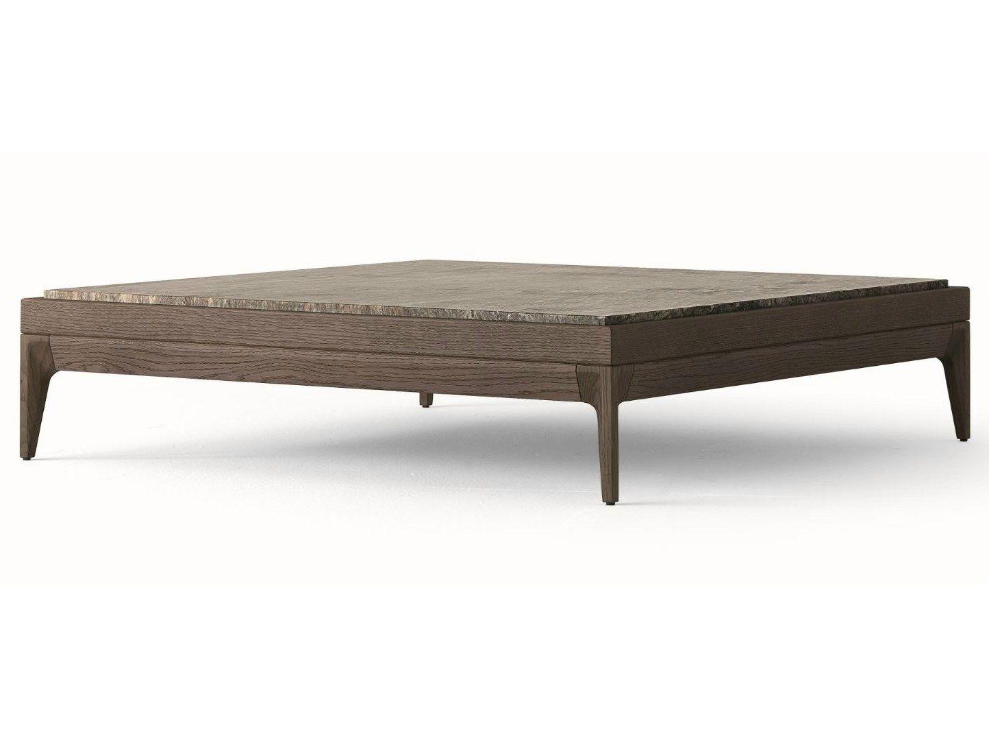 Antibes table basse by misuraemme design ferruccio laviani - Table de salon carree en bois ...