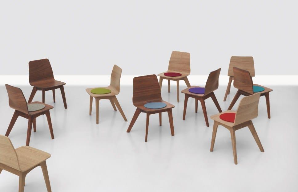 Sedia In Legno Per Bambini Morph Kid By Zeitraum Design