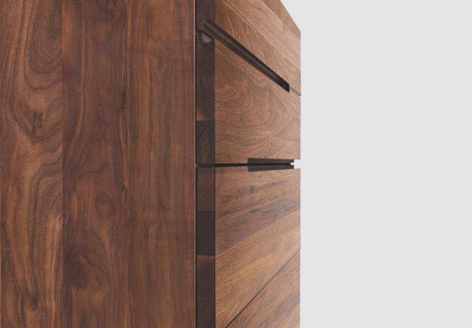 Kommode aus Holz im modernen Stil TWILL TWEED by ZEITRAUM Design ...
