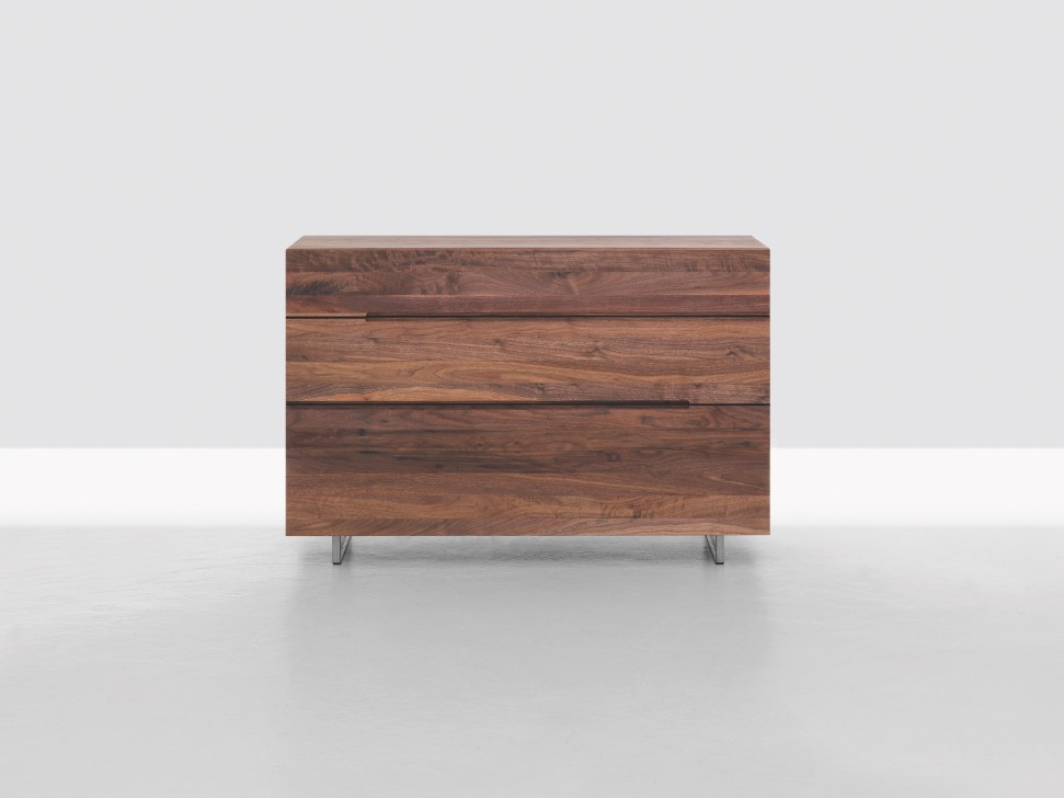 Cassettiera in legno in stile moderno twill tweed by for Moderne zeitraum