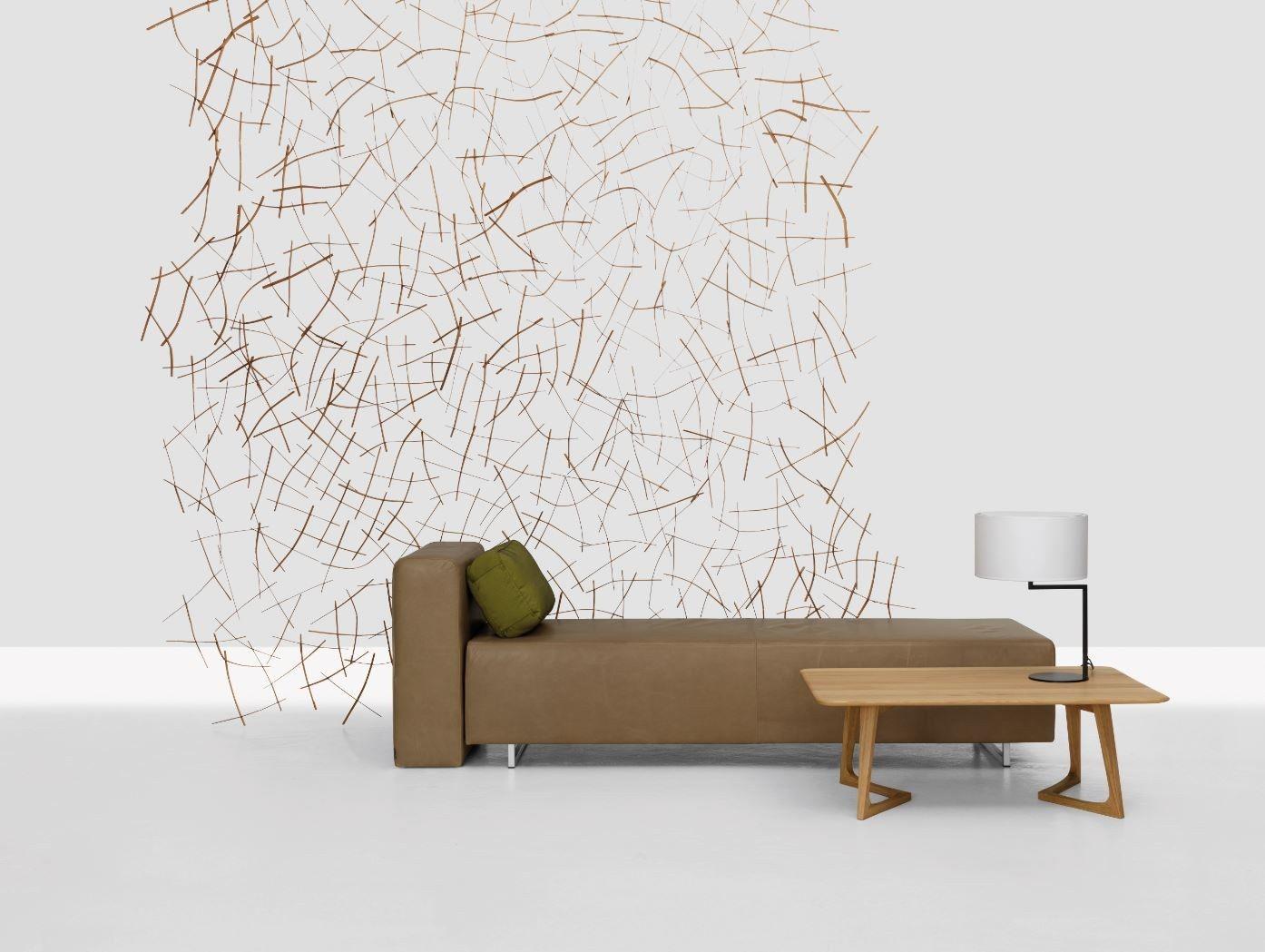 Cloison en bois STRUKTUR by ZEITRAUM design Lena Peter