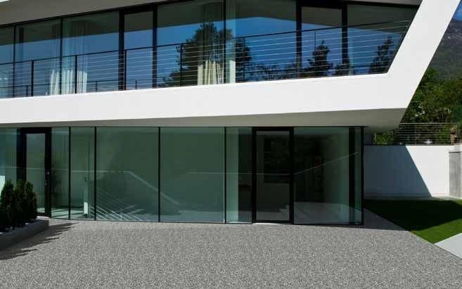 Carrelage de sol ext rieur en galets triflex stone design for Sol exterieur design