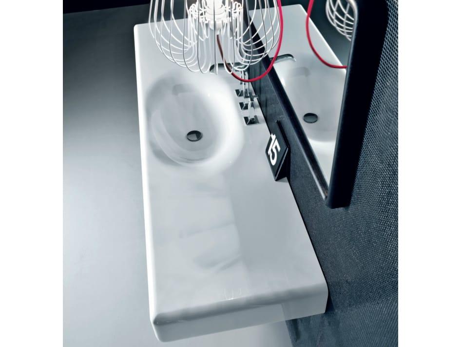 peace hotel waschbecken mit waschtisch by falper design. Black Bedroom Furniture Sets. Home Design Ideas