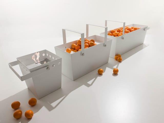 Bioethanol- Kamin aus Metall für Außen SECCHIELLO by FALPER Design ...