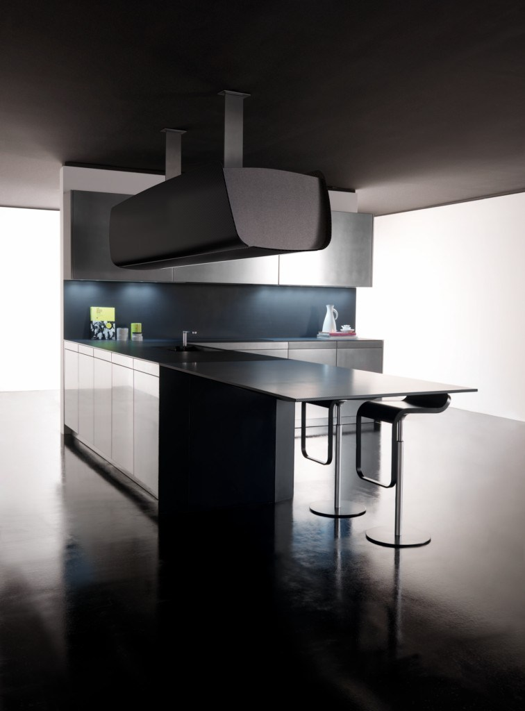 invisibile | küche mit halbinsel by toncelli cucine design studio, Möbel