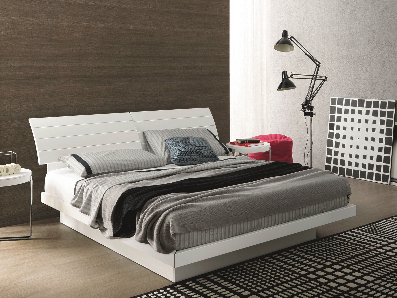 Giorgia storage bed by misuraemme design ennio arosio for Misuraemme bed