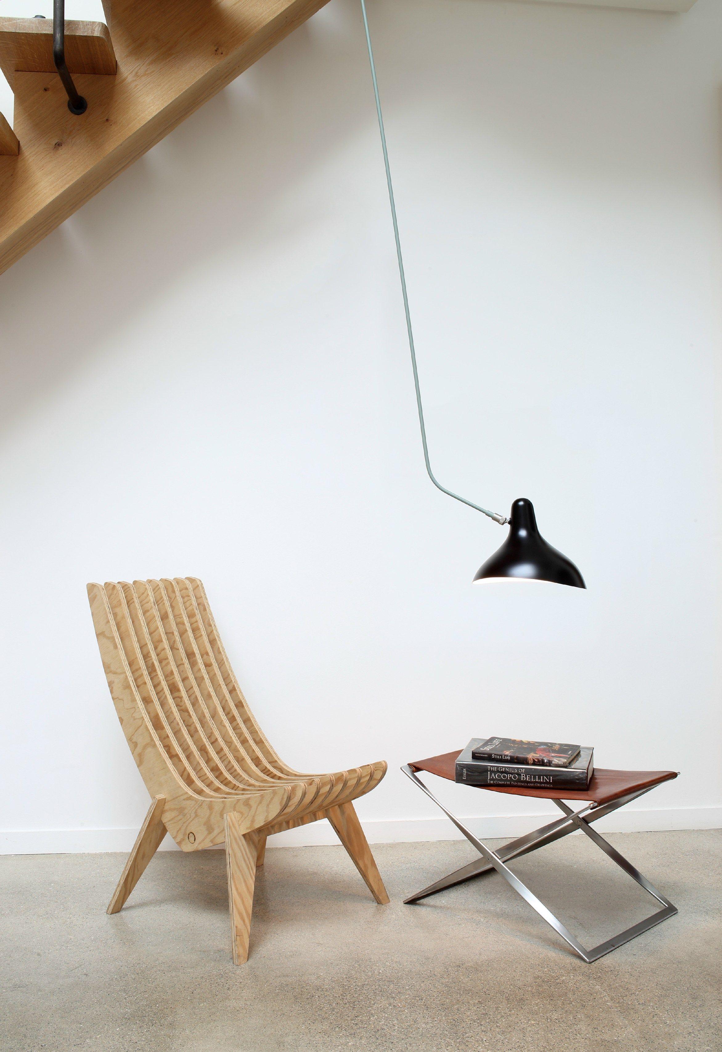 Direct light steel ceiling lamp bs4l by dcw ditions design bernard schottlander - Dcw edities ...