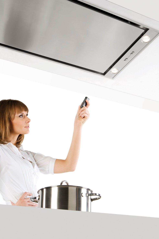 hotte de plafond encastrable avec clairage int gr 6840. Black Bedroom Furniture Sets. Home Design Ideas
