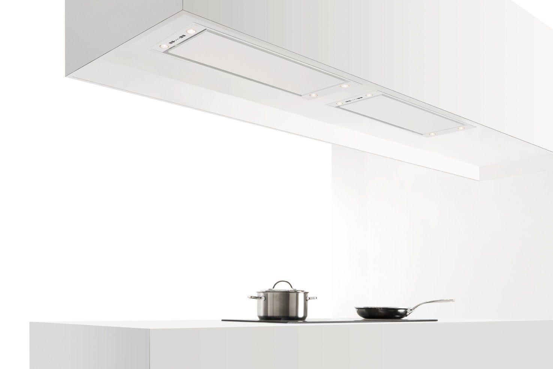 hotte de plafond encastrable en acier inoxydable 821 mini pure line collection pure line by novy. Black Bedroom Furniture Sets. Home Design Ideas