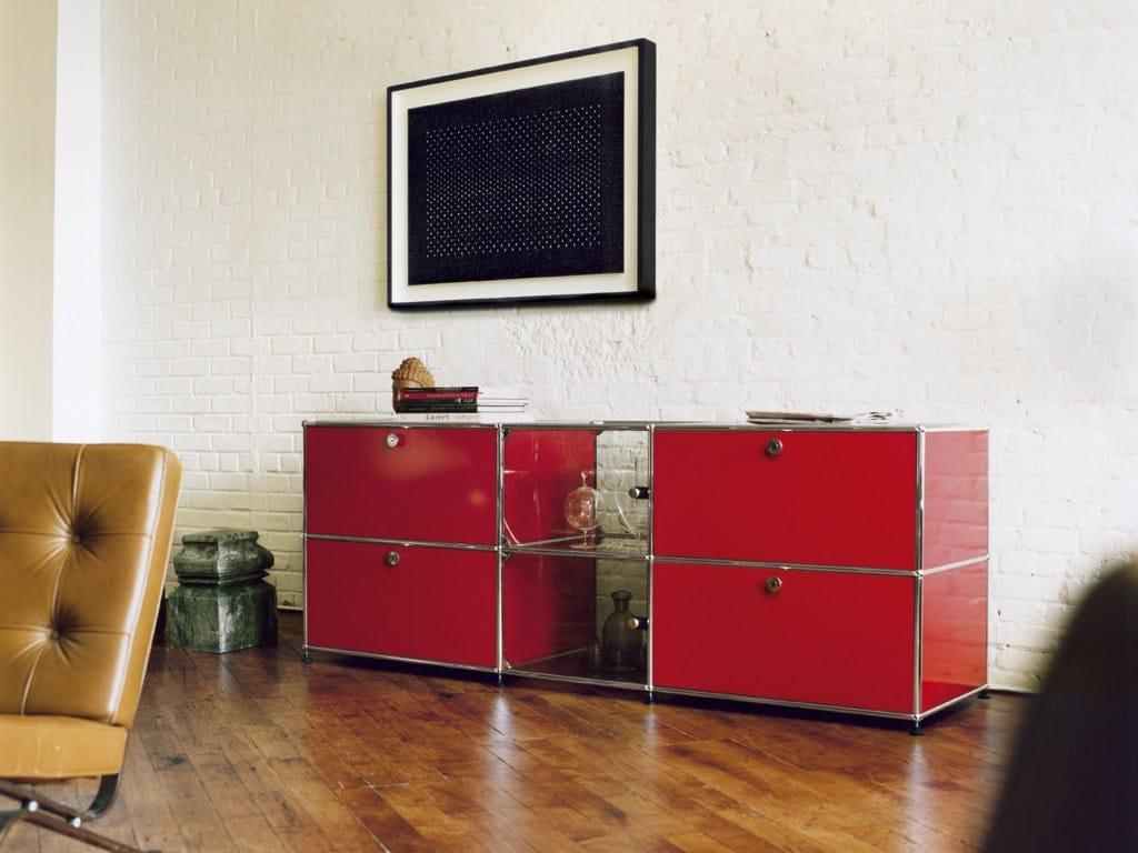 usm haller sideboard for living room storage unit by usm. Black Bedroom Furniture Sets. Home Design Ideas