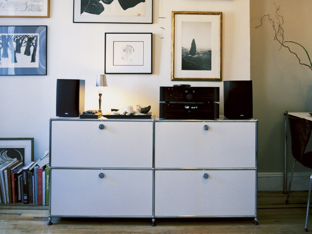Usm haller sideboard for living room storage unit by usm for Sideboard usm