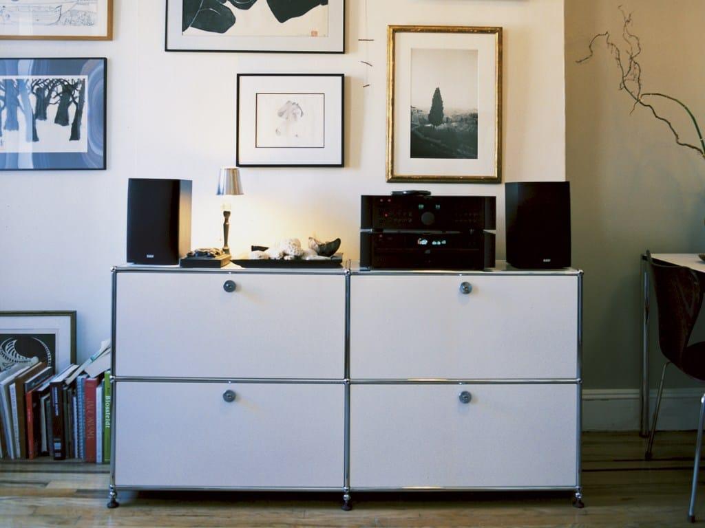 usm haller sideboard for living room storage unit by usm modular furniture. Black Bedroom Furniture Sets. Home Design Ideas