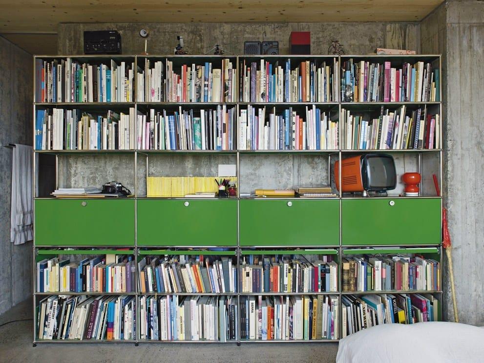 usm haller bookshelves regalsystem by usm modular furniture. Black Bedroom Furniture Sets. Home Design Ideas