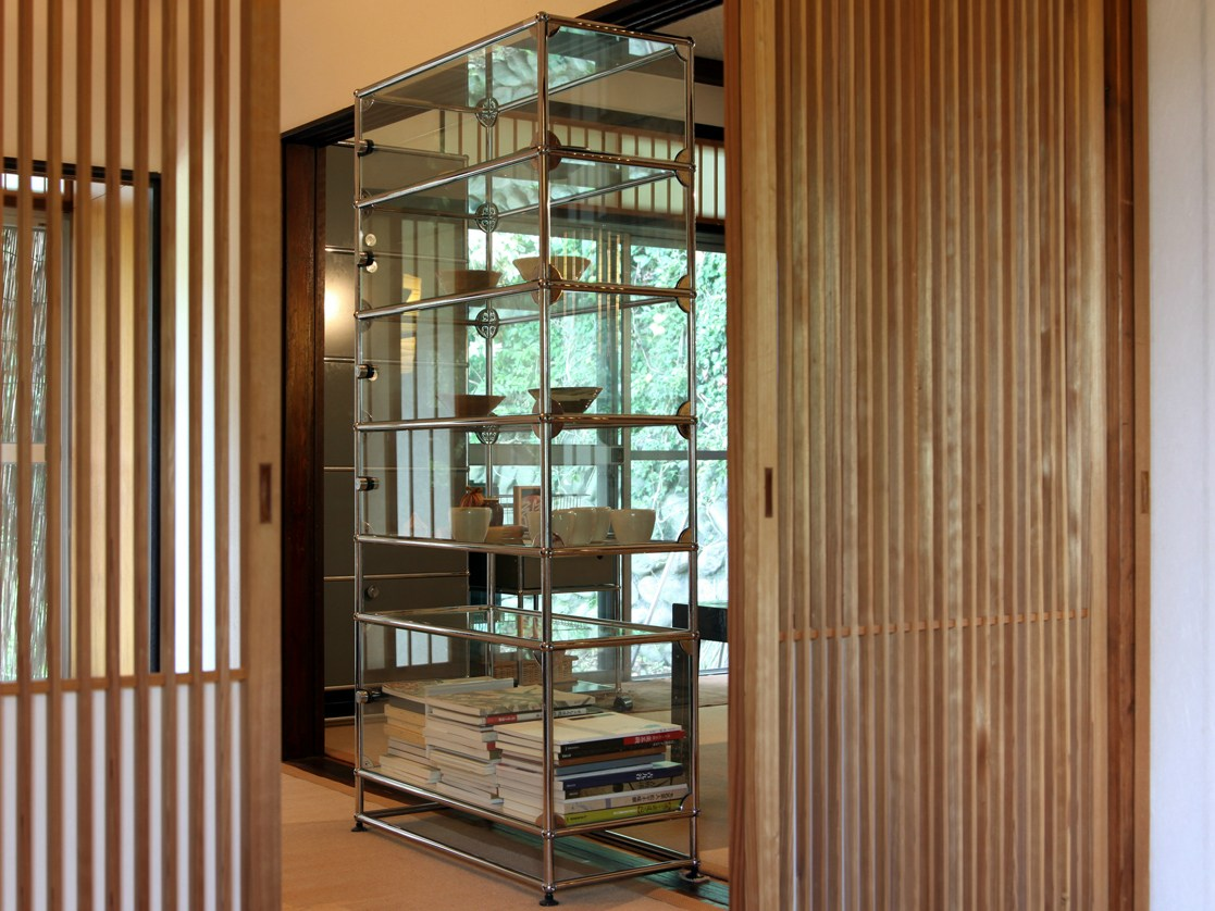 Usm haller glas shelving and showcases b cherregal by usm - Usm vitrine ...