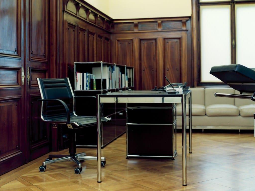 usm haller pedestal office drawer unit by usm modular. Black Bedroom Furniture Sets. Home Design Ideas