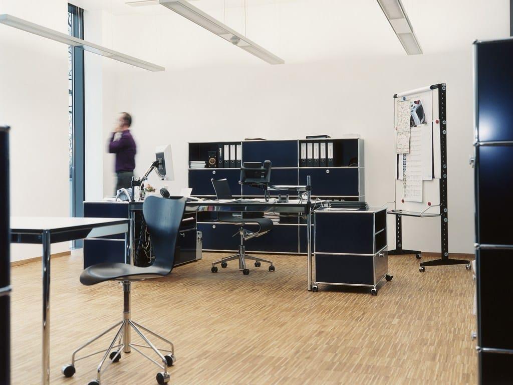 usm haller credenza as office storage b roschrank by usm modular furniture design fritz haller. Black Bedroom Furniture Sets. Home Design Ideas
