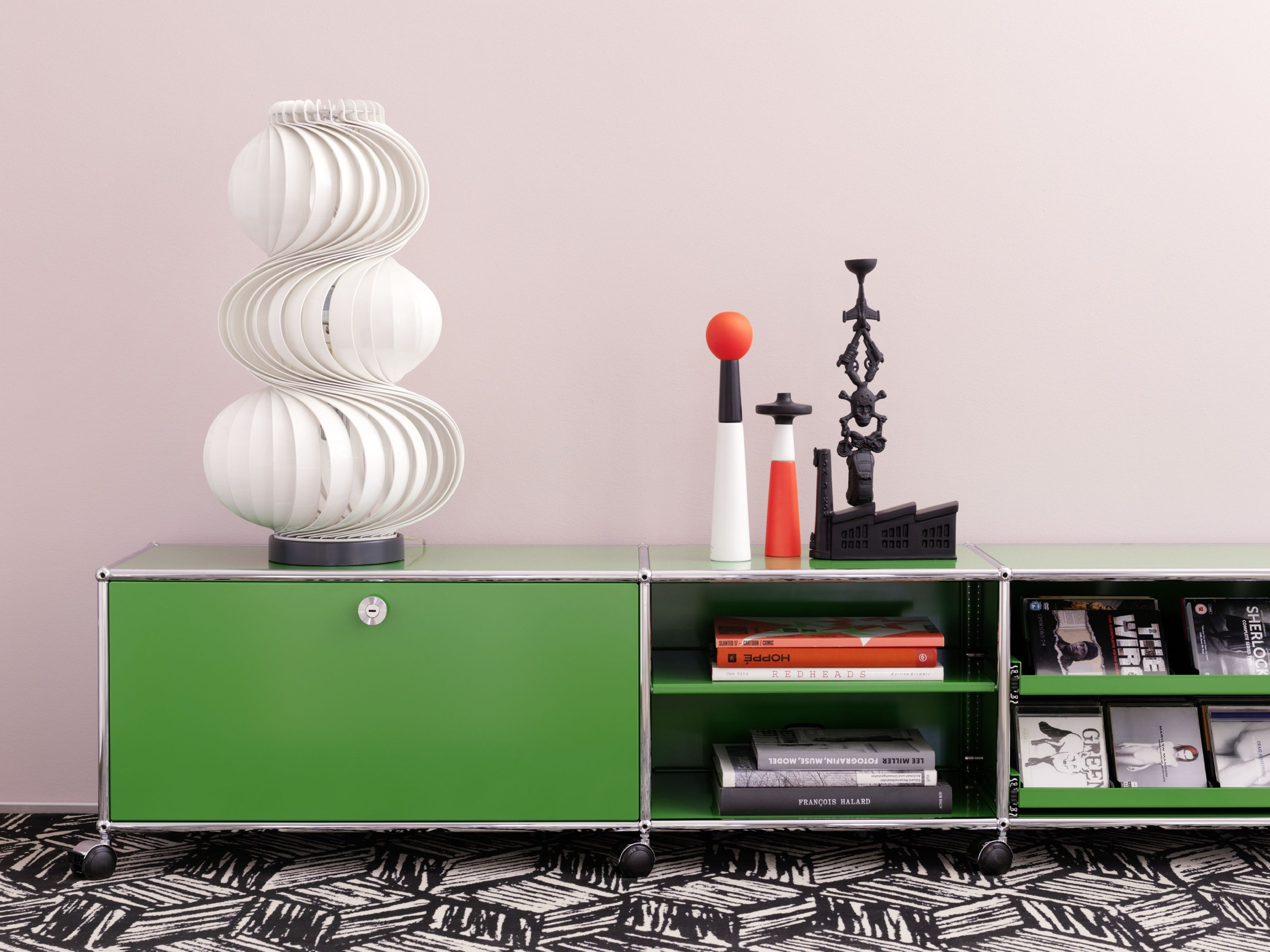 usm haller lowboard modular sideboard by usm modular. Black Bedroom Furniture Sets. Home Design Ideas