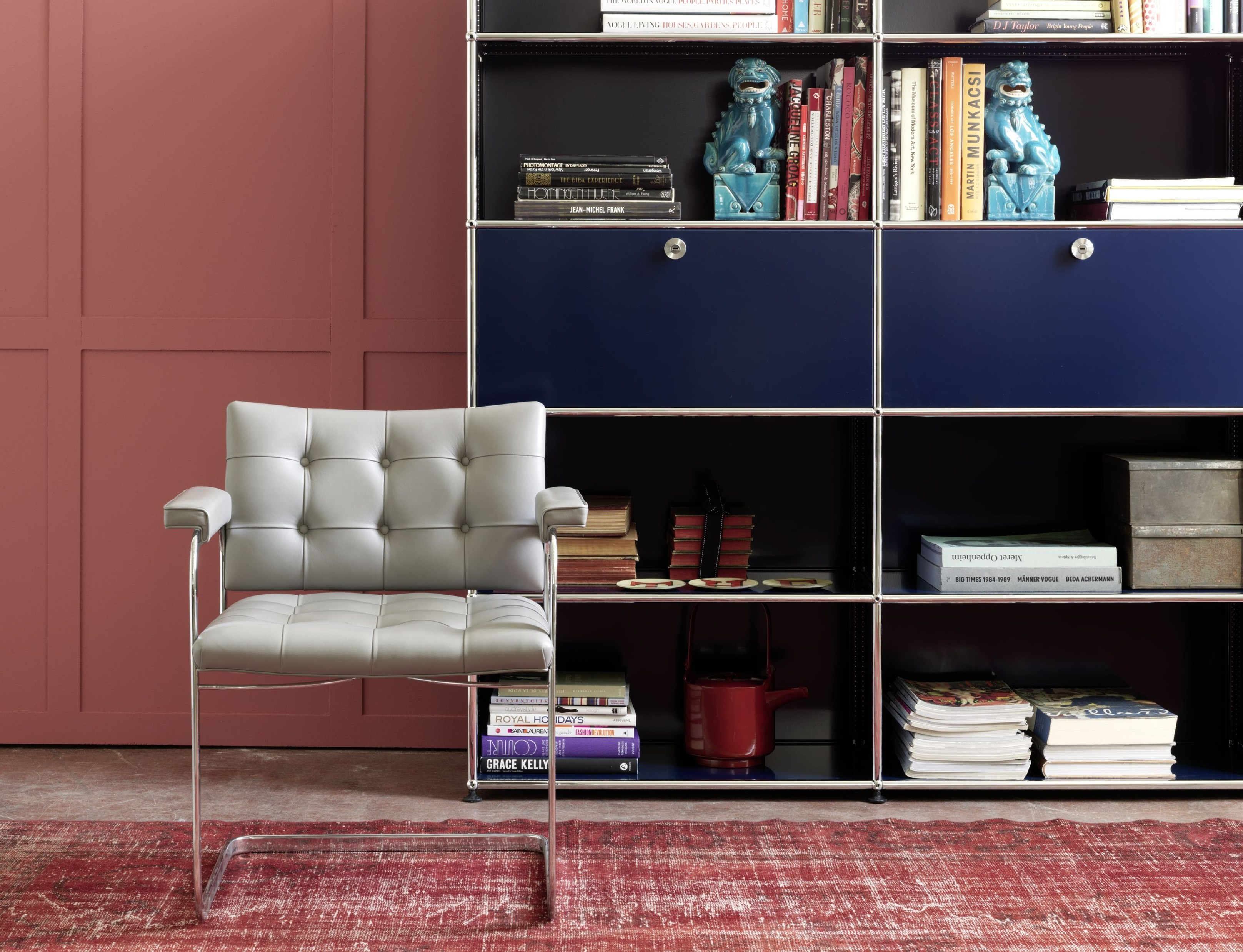 USM HALLER LIVING ROOM STORAGE Anbau- Kommode by USM Modular ...