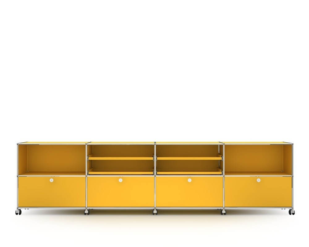 Usm haller sideboard meuble tv composable by usm modular for Meuble composable