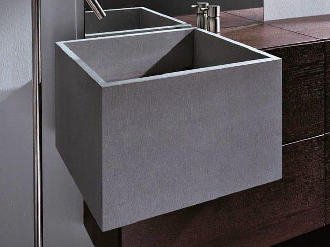 lavabo semi encastr rectangulaire en marbre collection light by falper design ludovica. Black Bedroom Furniture Sets. Home Design Ideas