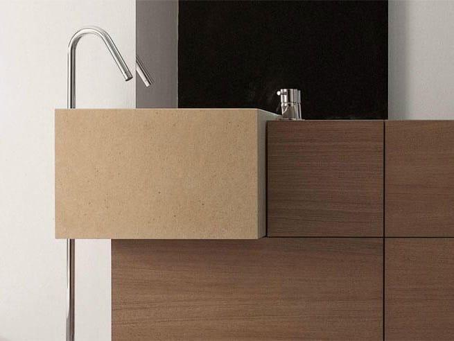 light waschbecken aus marmor by falper design ludovica. Black Bedroom Furniture Sets. Home Design Ideas