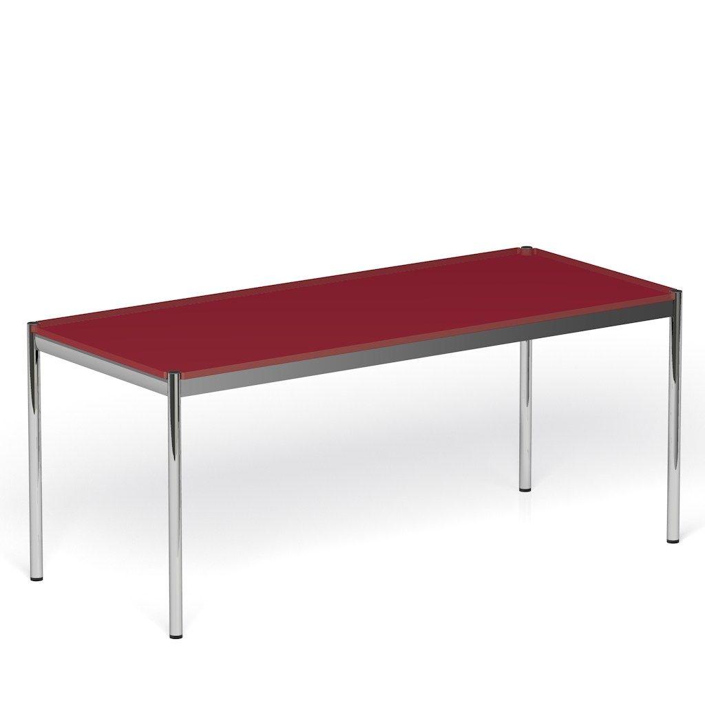 Usm haller home office table bureau réglable en hauteur by usm ...