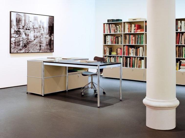 Usm haller individual workstation table bureau r glable en for Bureau usm haller