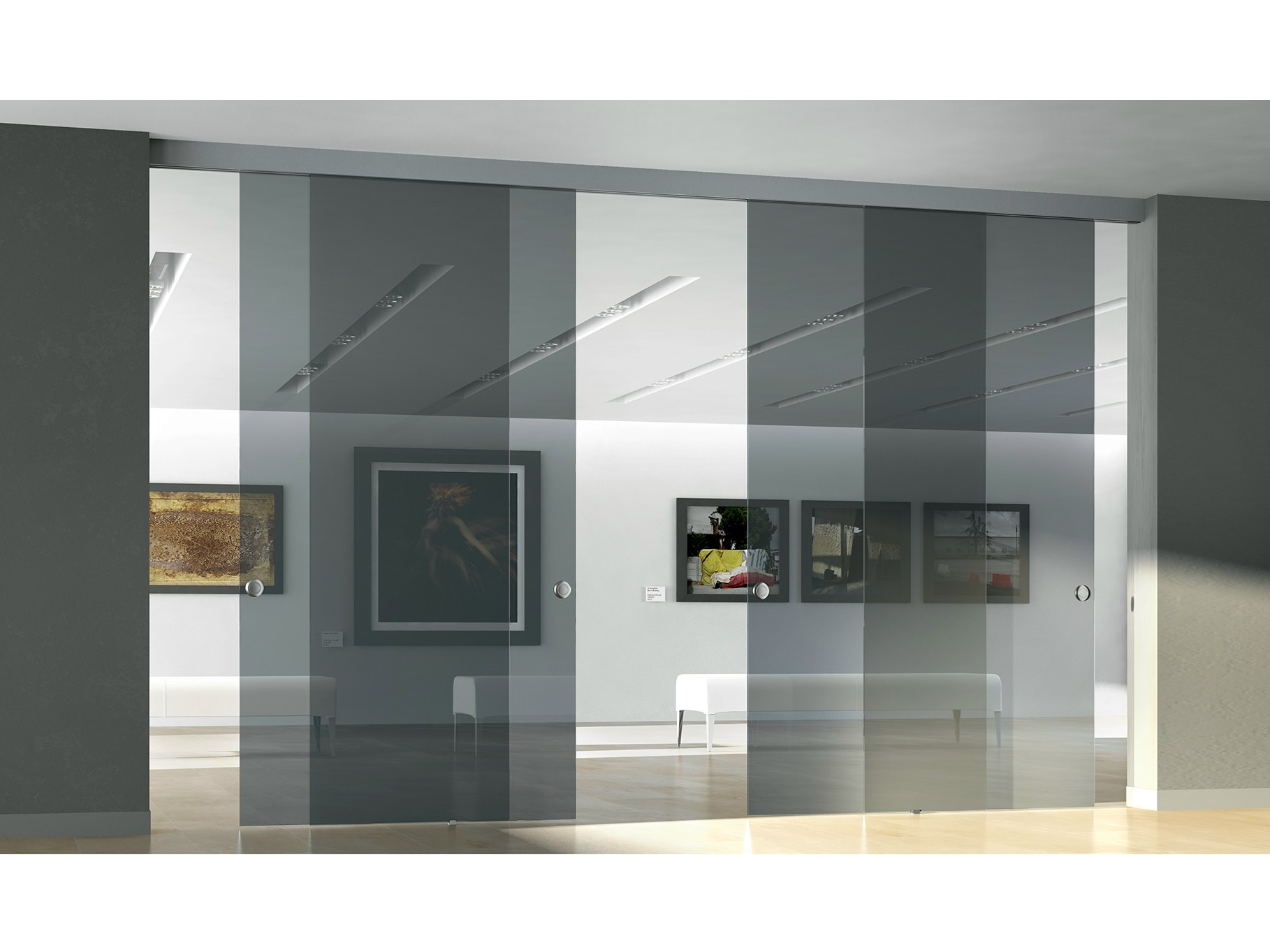 sliding doors | doors | archiproducts - Porte In Vetro Decorate Moderne