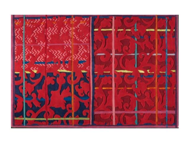 Handmade rectangular rug ispahan by toulemonde bochart - Tapis florence bourel ...