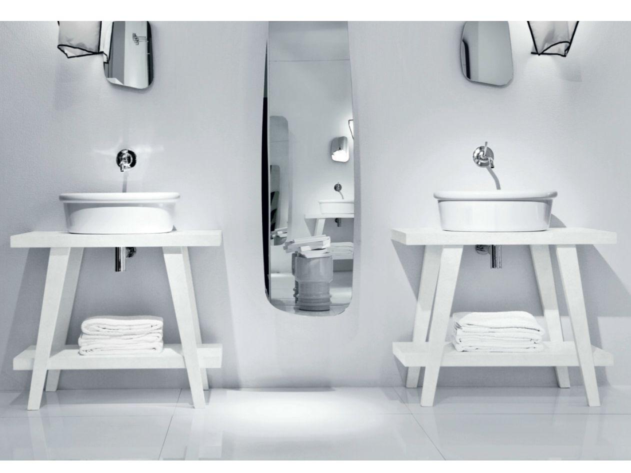Consolle lavabo in legno MENHIR  Consolle lavabo - FALPER
