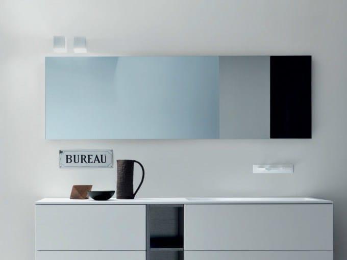 Specchio rettangolare by falper design falper design - Specchi bagno milano ...