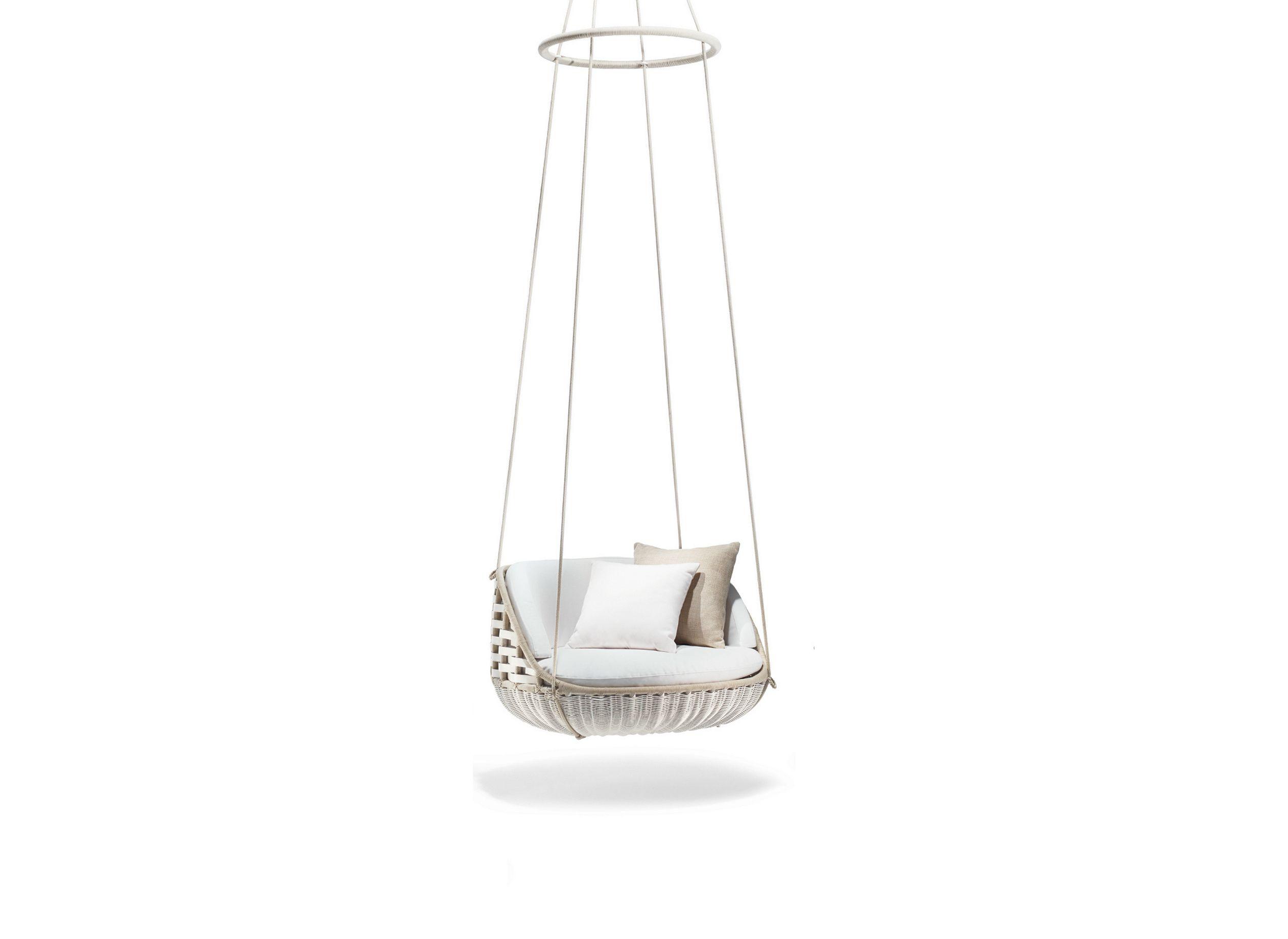 Divano Da Giardino Nestrest Di Dedon : Seduta sospesa in tessuto swingme collezione swingrest