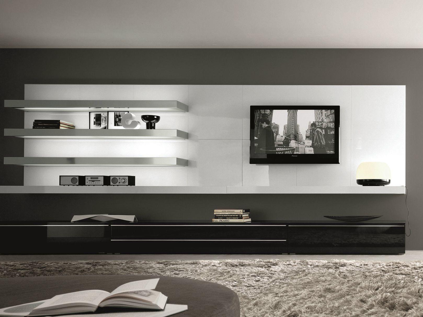 Tao day mueble modular de pared montaje pared by - Di mauro mobili ...