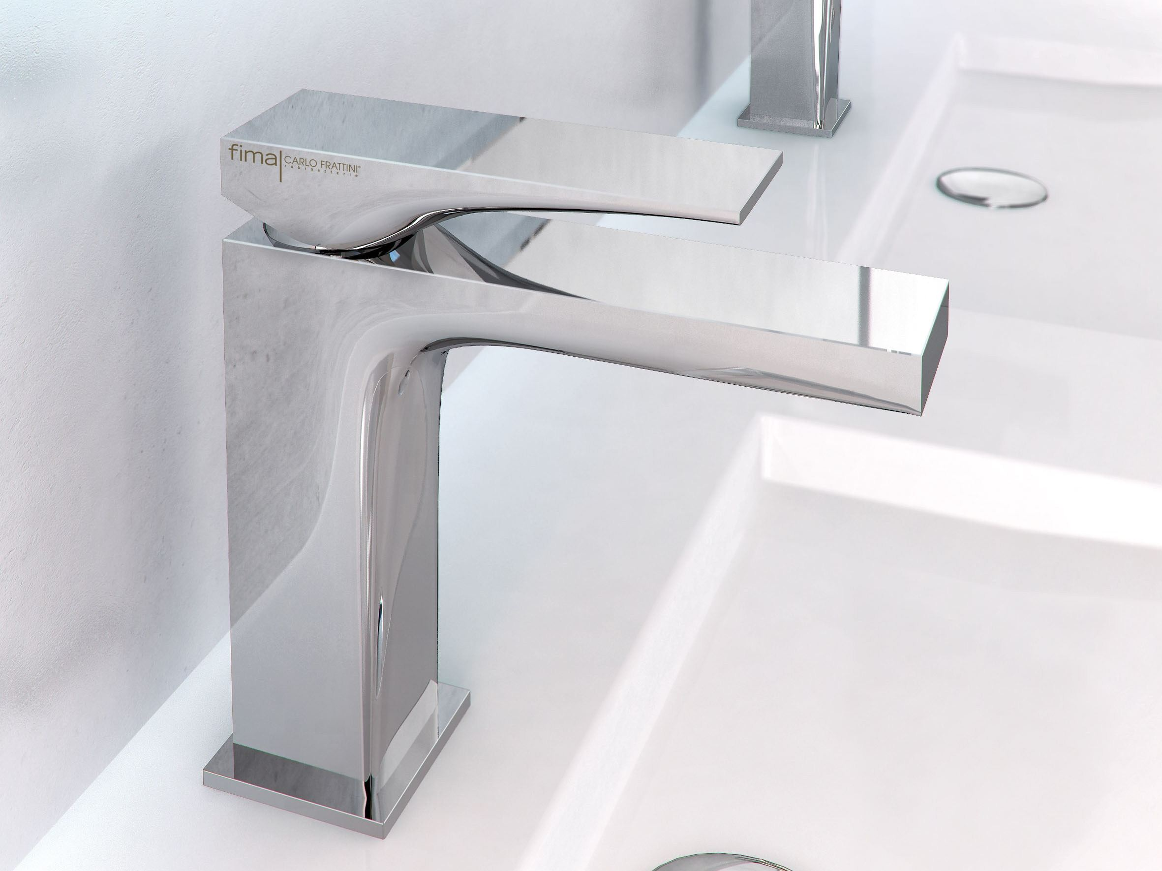 Zeta rubinetto per lavabo by fima carlo frattini design for Rubinetteria frattini