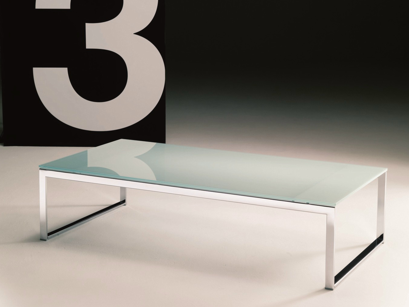 Hiphop tavolino rettangolare by bontempi casa design studio 28 for Tavolino da salotto in cristallo