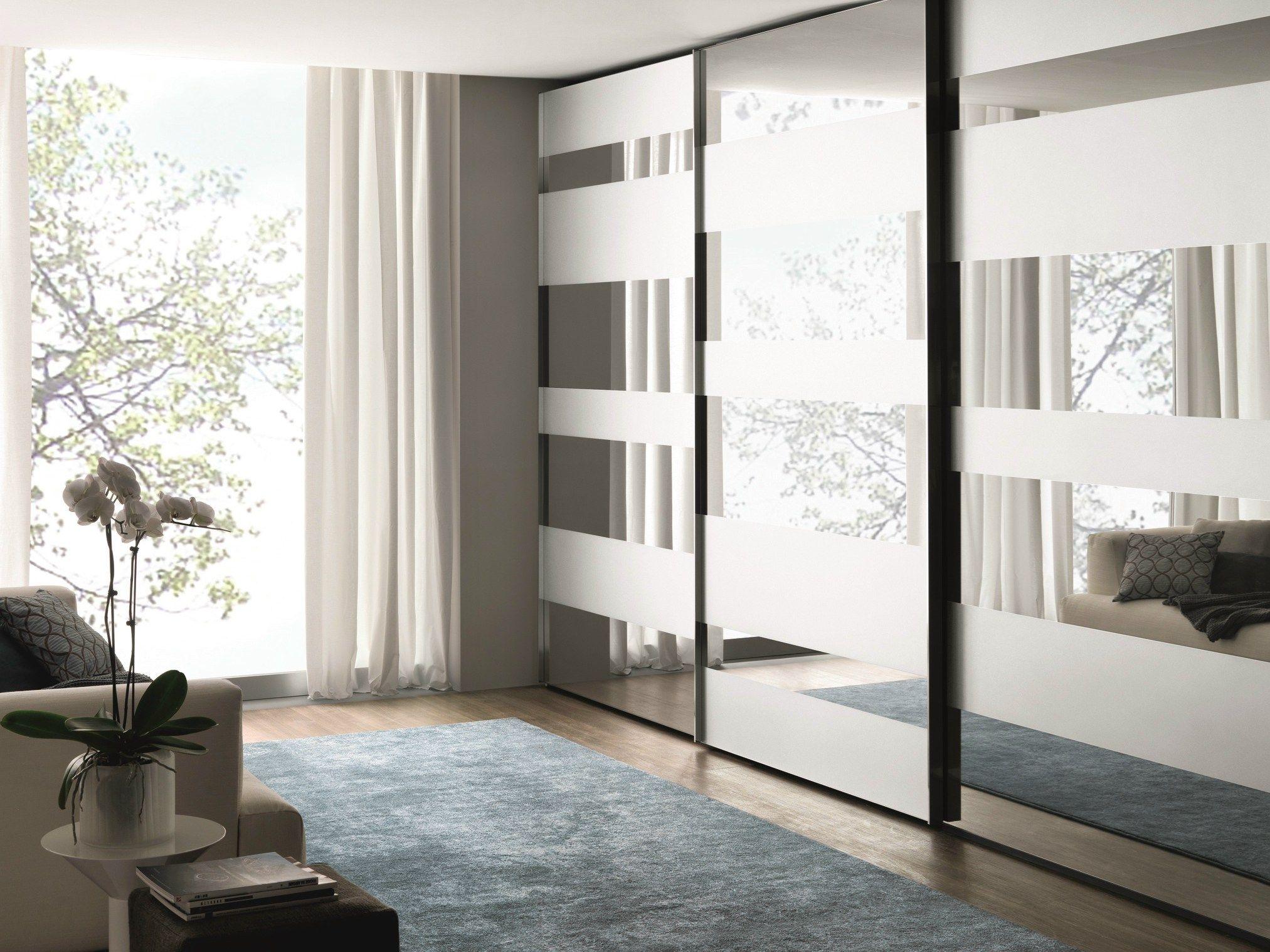 SEGMENTA NEW Armadio in vetro a specchio by MisuraEmme