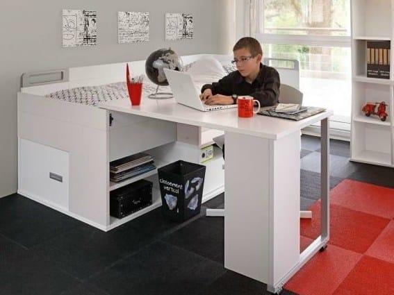 Letto con scrivania per ragazzi dimix letto gautier - Scrivania ragazzi ...