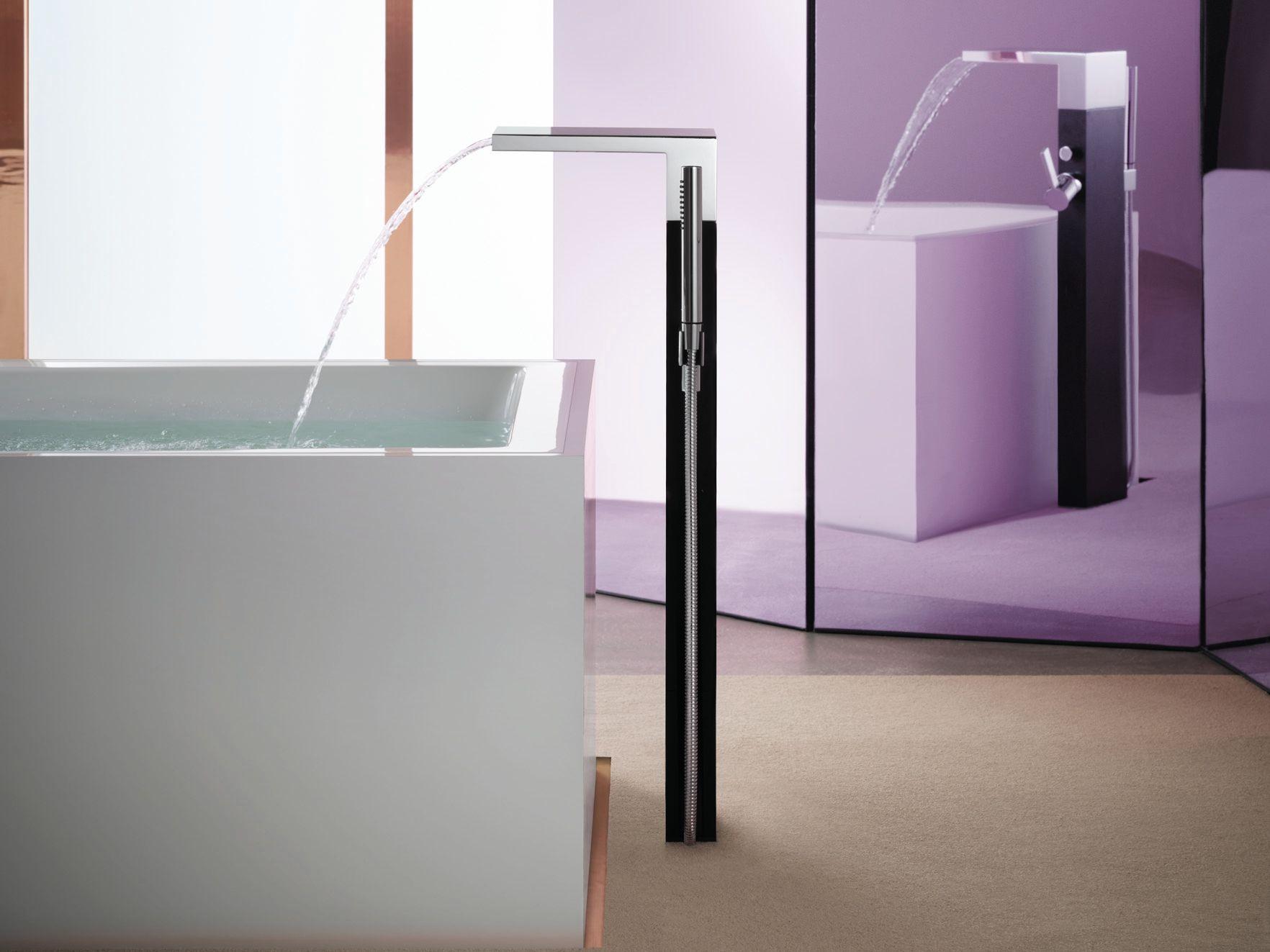 Mem rubinetto per vasca da terra by dornbracht design - Rubinetto vasca da bagno prezzi ...