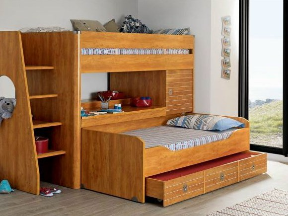 High Bed MAJESTIC Bunk Bed GAUTIER FRANCE