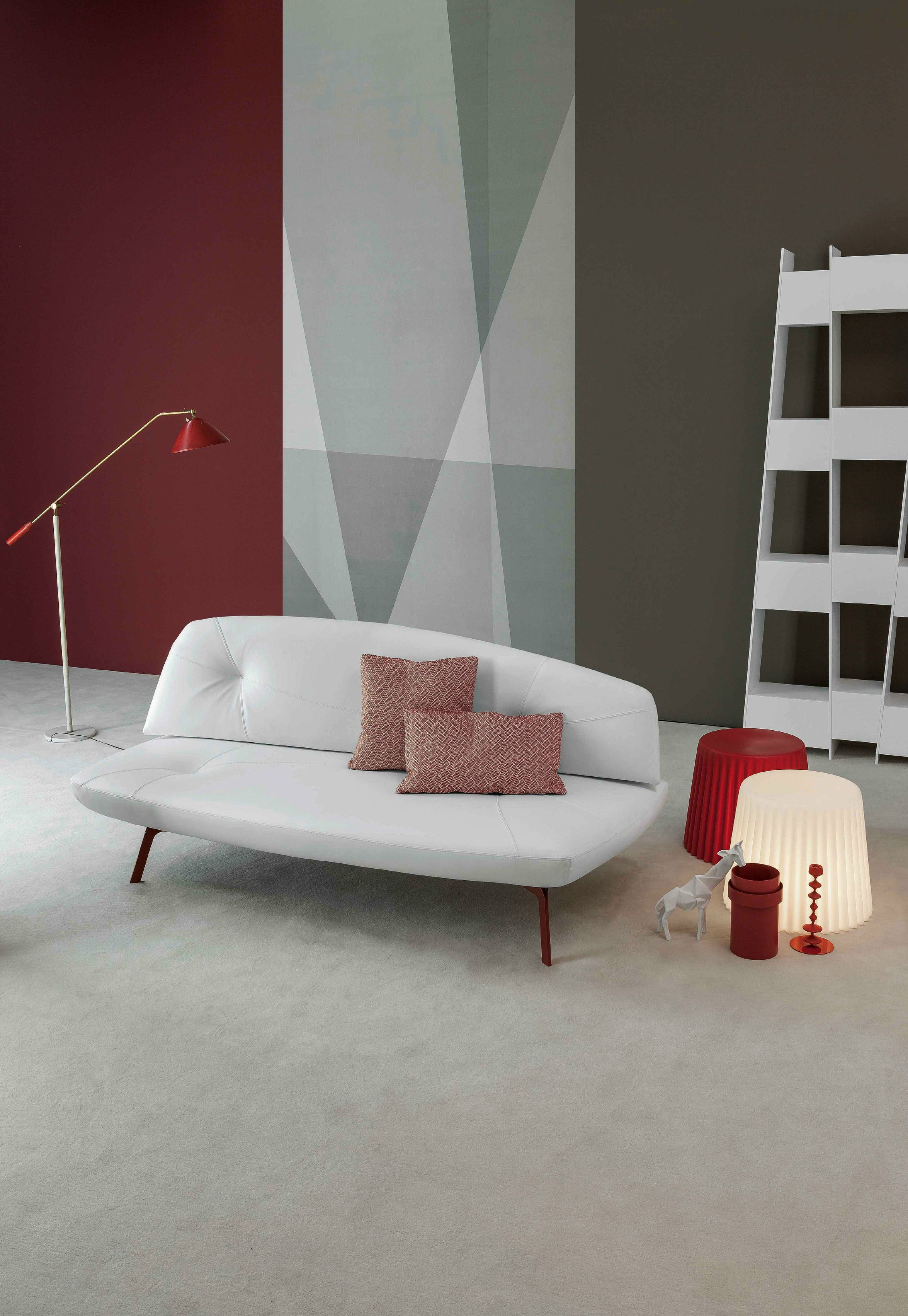 Canap Lit Convertible En Tissu Bandy By Bonaldo Design