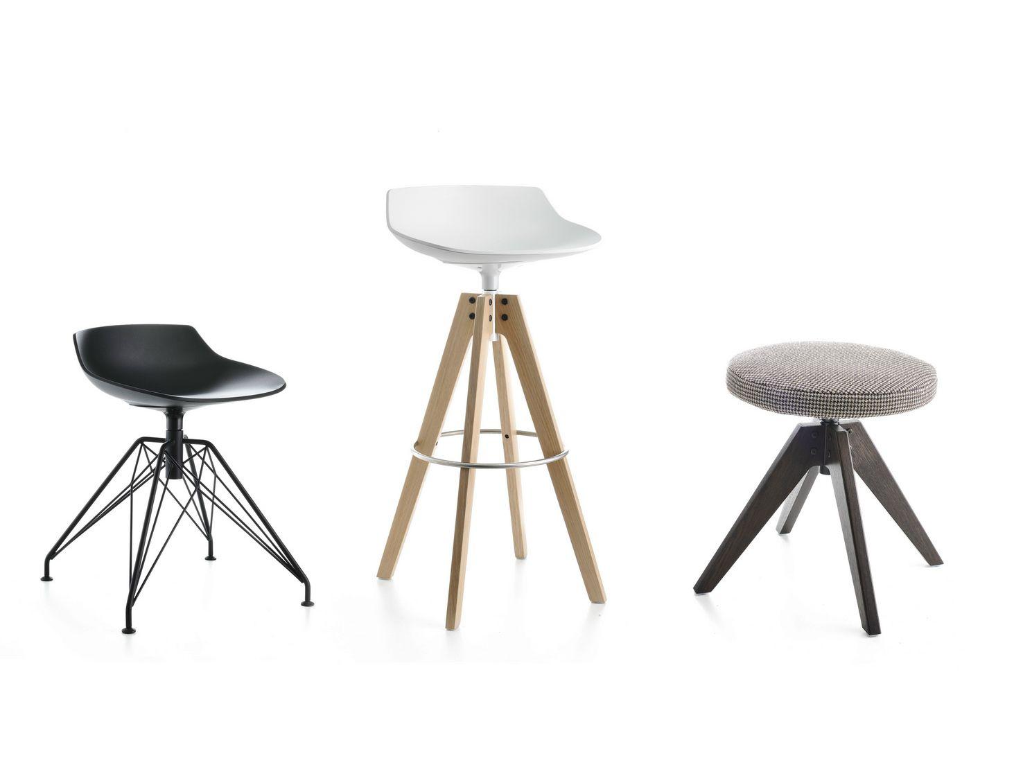 flow stool tabouret pivotant by mdf italia design jean marie massaud. Black Bedroom Furniture Sets. Home Design Ideas