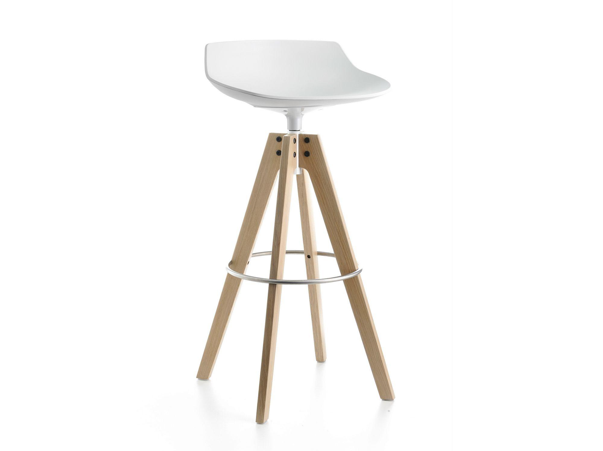 flow stool tabouret pivotant by mdf italia design jean. Black Bedroom Furniture Sets. Home Design Ideas